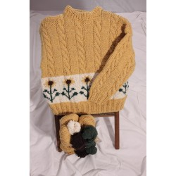 Kyra's Sunflowers Sweater Kit