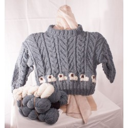 Young Shepherd Sweater Kit
