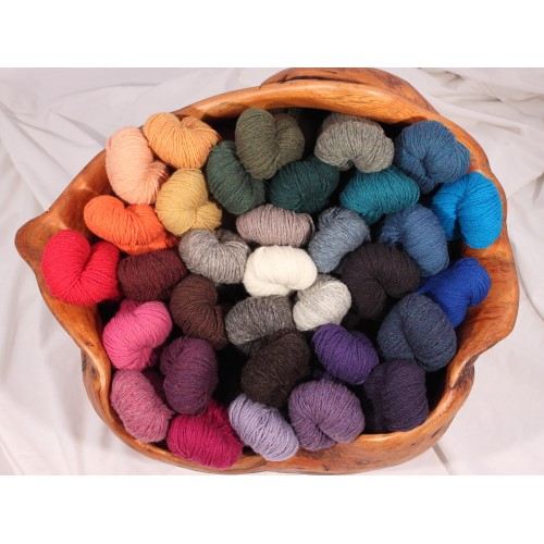 Mule Spinner 2-Ply 100% Wool - Skeins
