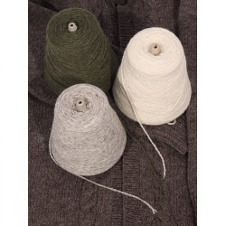 Mule Spinner 2-Ply 100% Wool - Cones